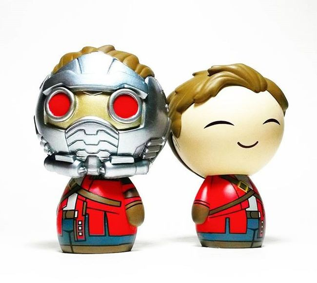 Star Lord/Peter Quill Dorbz Funko Dorbz Guardians Of The Galaxy Star Lord Marvel