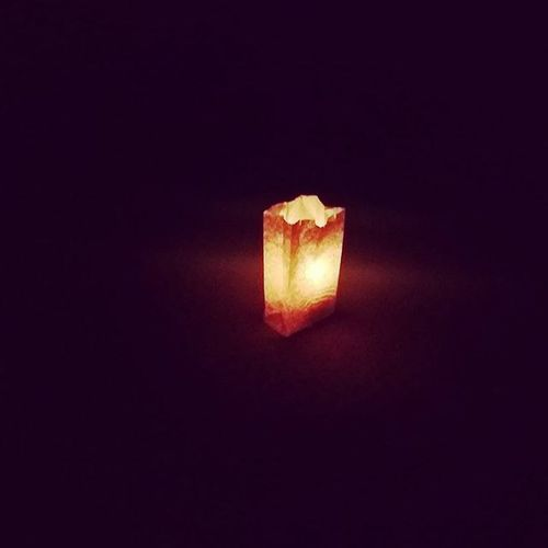 And the light shined in the darkness but the darkness could not comprehend it. TonightsDaNight