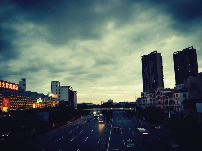 陌生的城市,陌生的你