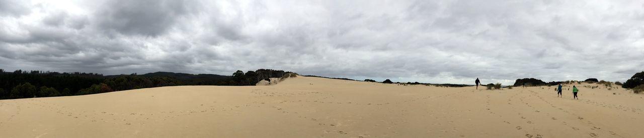 Sand dunes in Strahan Australia Australia & Travel Australian Landscape Beach Beauty In Nature Cloud - Sky EyeEm Gallery EyeEm Nature Lover Landscape Nature Outdoors Panoramic Panoramic View Sand Sand Dune Sand Dunes Scenics Sky Strahan Travel Destinations Traveling