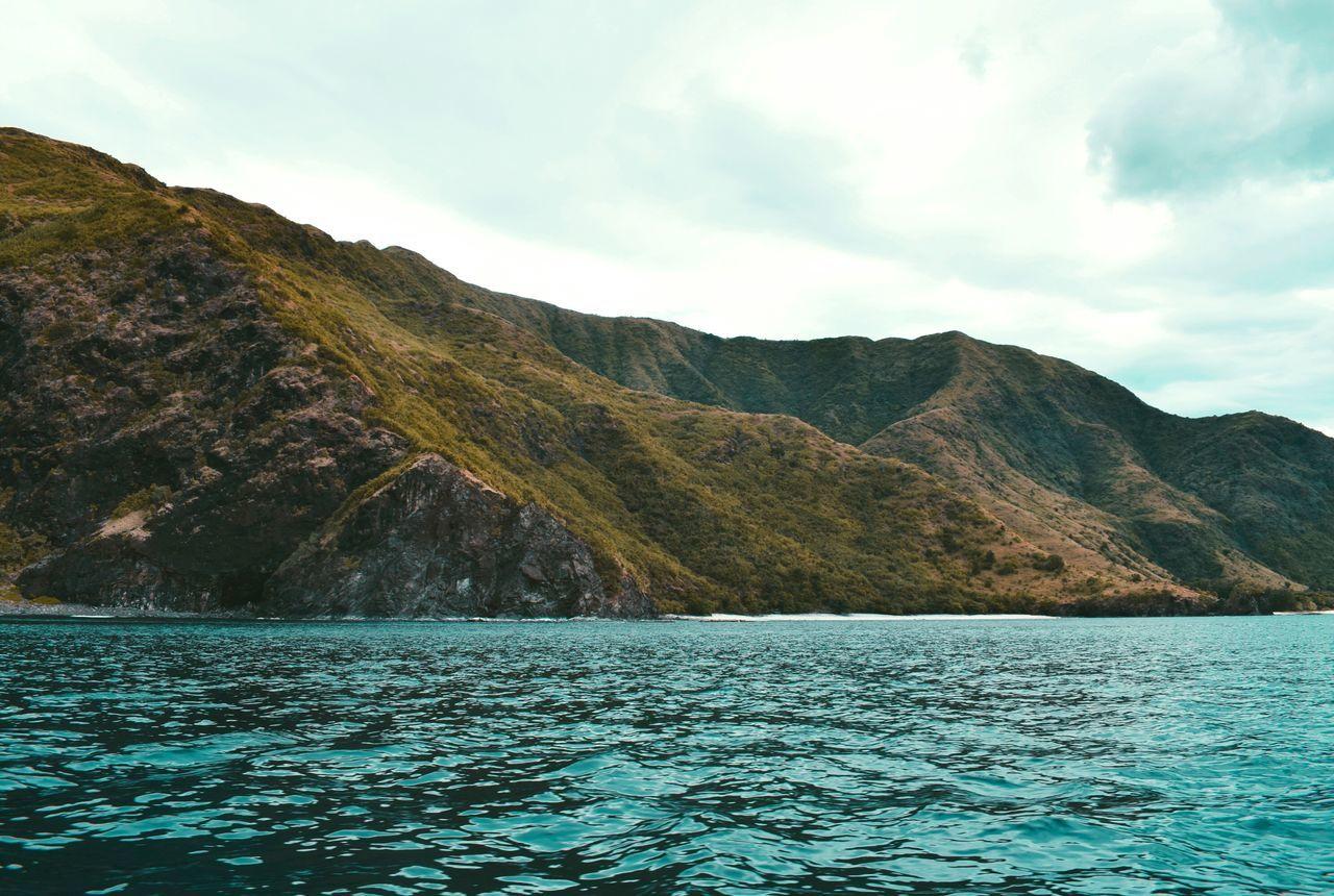 GodsMasterpiece LoveNature LiveLifeLove Scenics Nature Outdoors Philippines No People Sky Sea Mountain Seaside