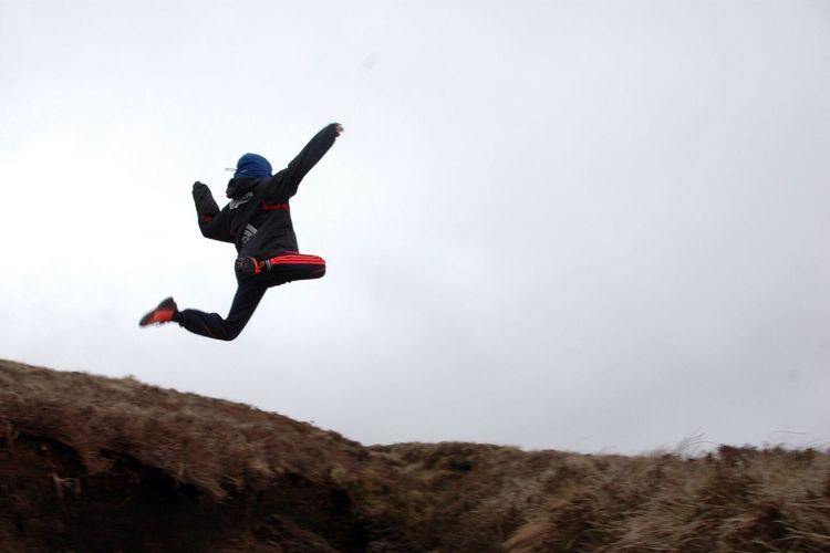Leaping For Joy On The Bog Blanket Bog