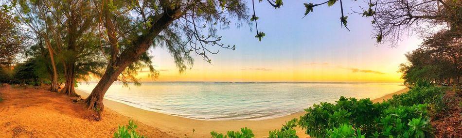 Horizon Over Water Wanderlust Kauai Hawaii Camping View Goodmorning Sunrise - Shoreline Beach Beachbum Fantasy (null)Beauty In Nature Sea Scenics Tranquility Water Sand Sky Outdoors Panoramic Landscape Adventure