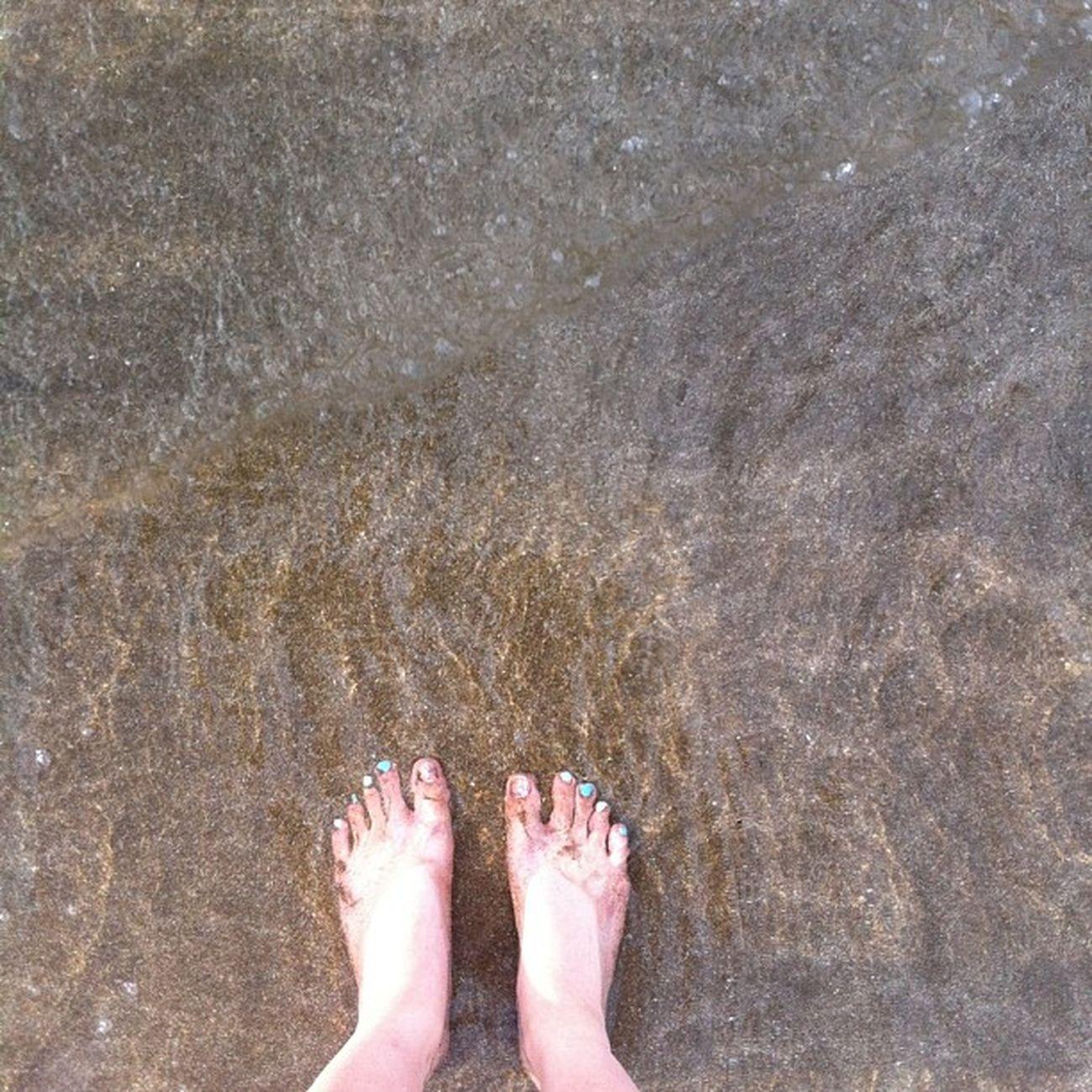 Sand in my toes=happy feet? Beachtimefun Thisissummer Instabeach Instasummer