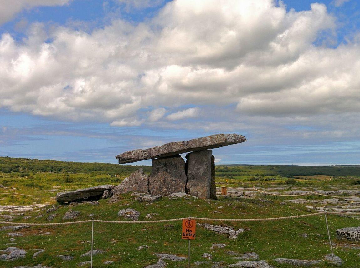 Ireland Nature Stone No Entry