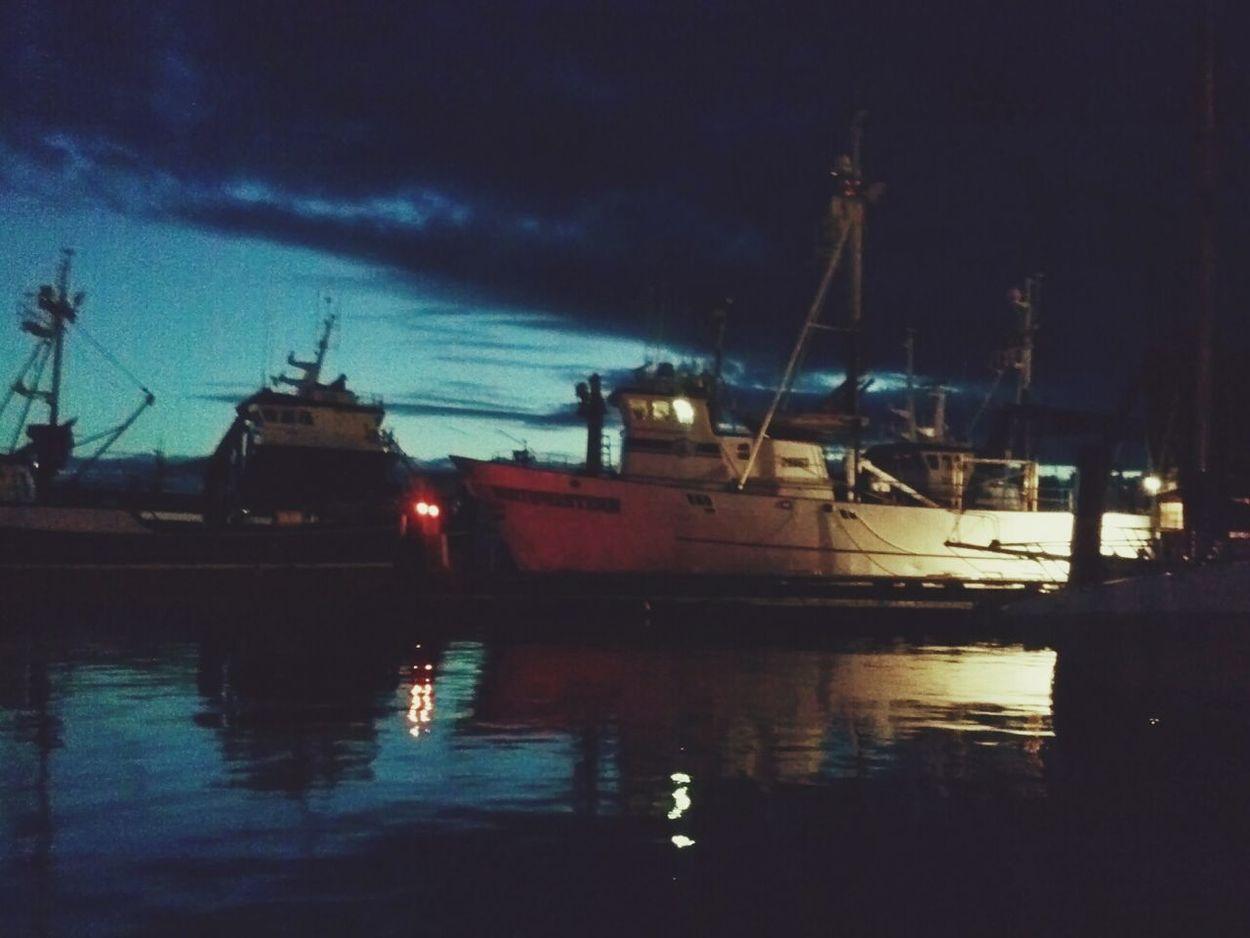 Ballard On The Docks