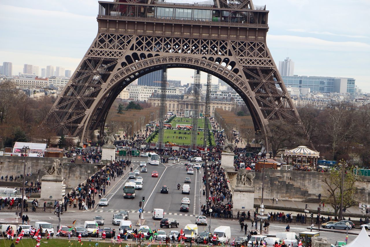 The Eiffel Tower Traveling Paris Traffic Cars On The Road!! The Road- Image Gallery Urban Lifestyle