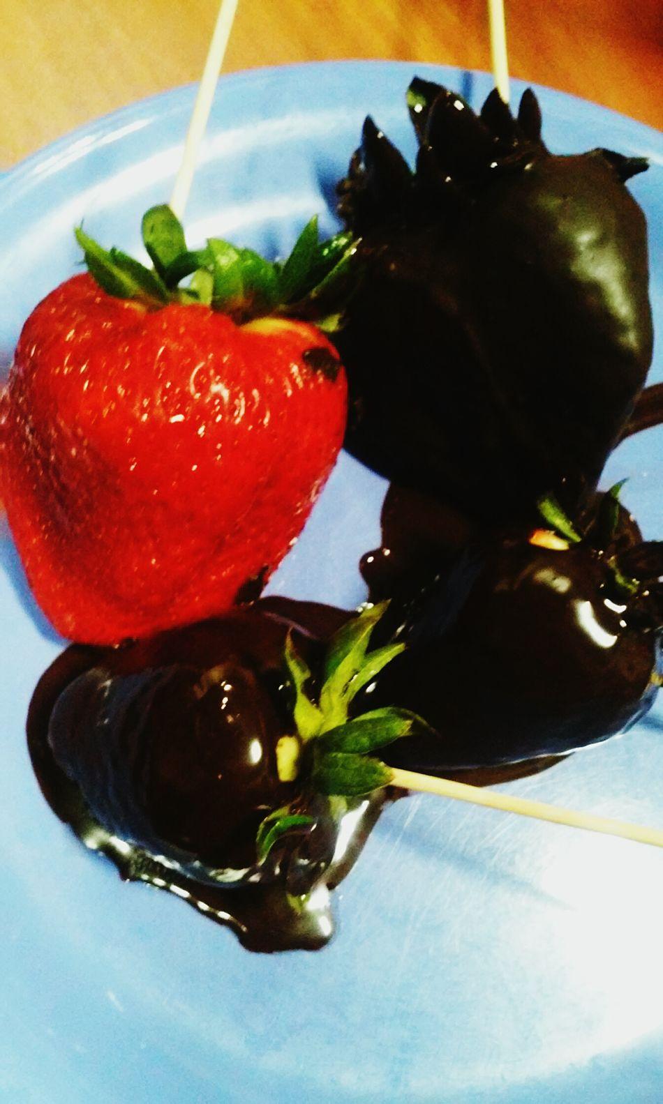 Chocolatestrawberries 🍓🍫