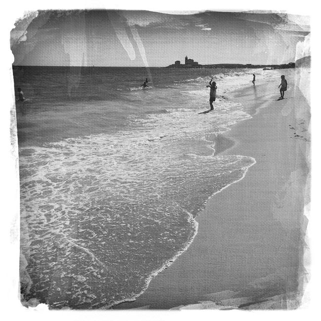 Fun at the beach... Watch Hill Lighthouse in the background 😊 www.eSantosStudios.com Blackandwhite Photography Black And White Blackandwhite NEM Black&white EyeEm Best Shots - Black + White Black&white Black And White Photography Blackandwhitephotography Black & White Blac&white
