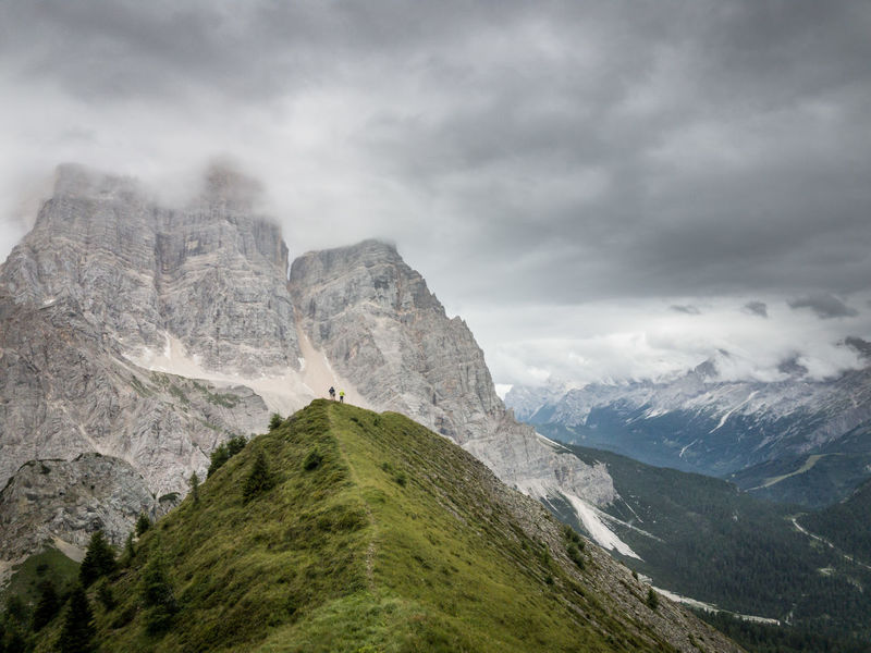 Dolomiti, the Pelmo Muont near Rifugio Fiume Clody Day Dolomites, Italy Dolomiti Bellunesi Dolomiti Italy Dolomitiunesco Montains    Overcast Pathway Pelmo The Week On EyeEm Val Zoldana