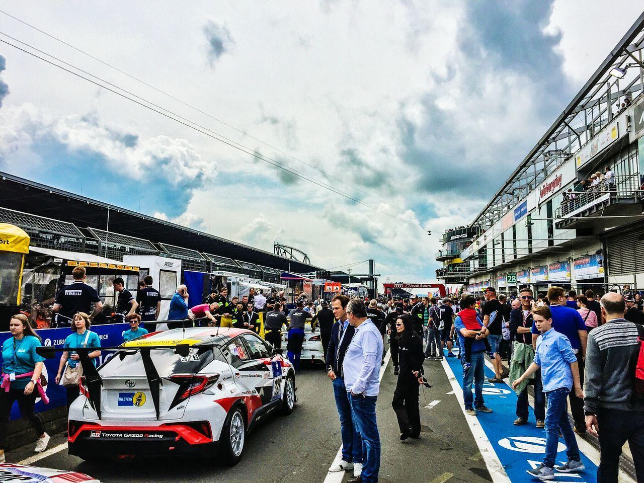 Sky And Clouds Nurburgring Racing Eifel Germany Race 24h Race Motorsport Cars 24h