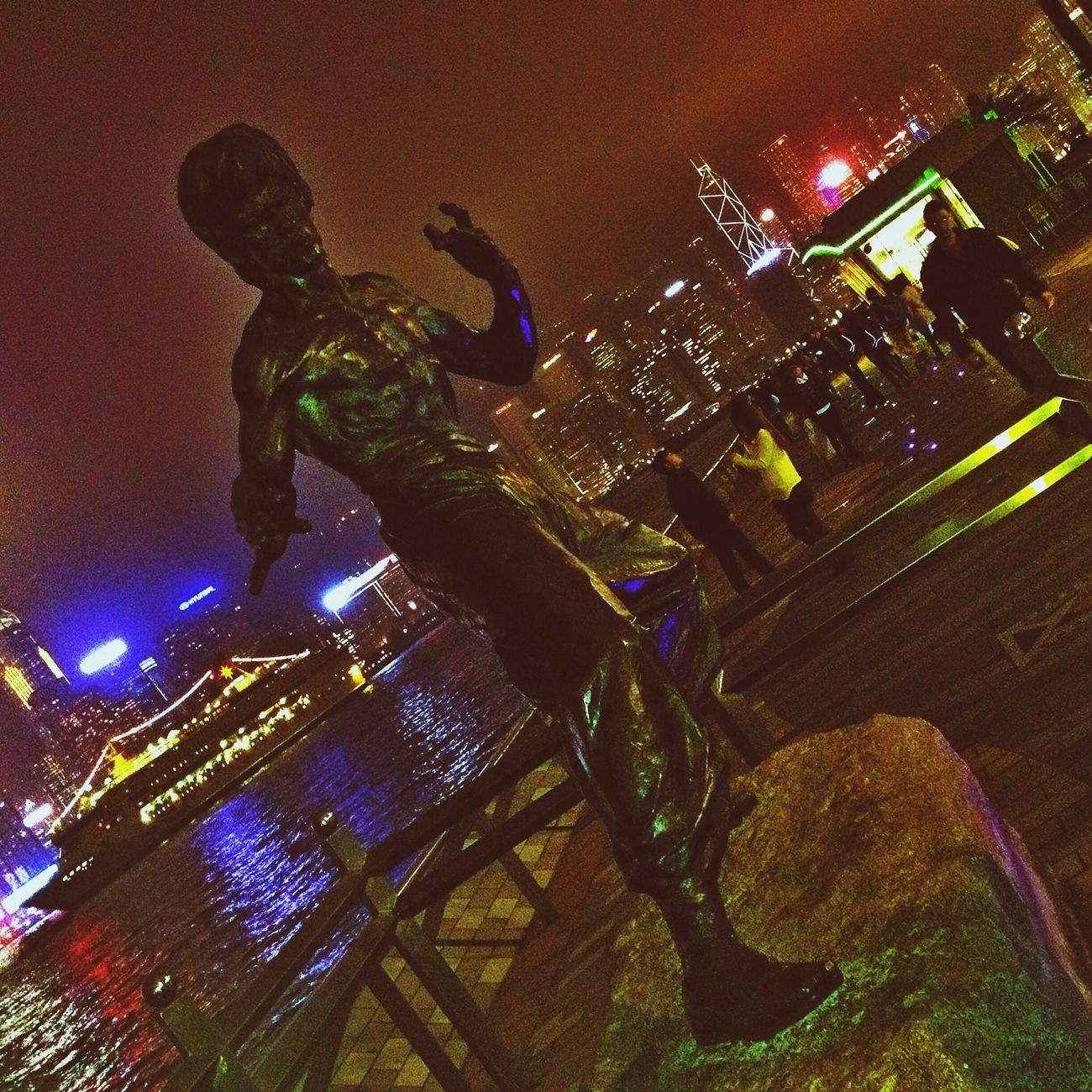 Гонконг HongKong Hong Kong Bruce Lee