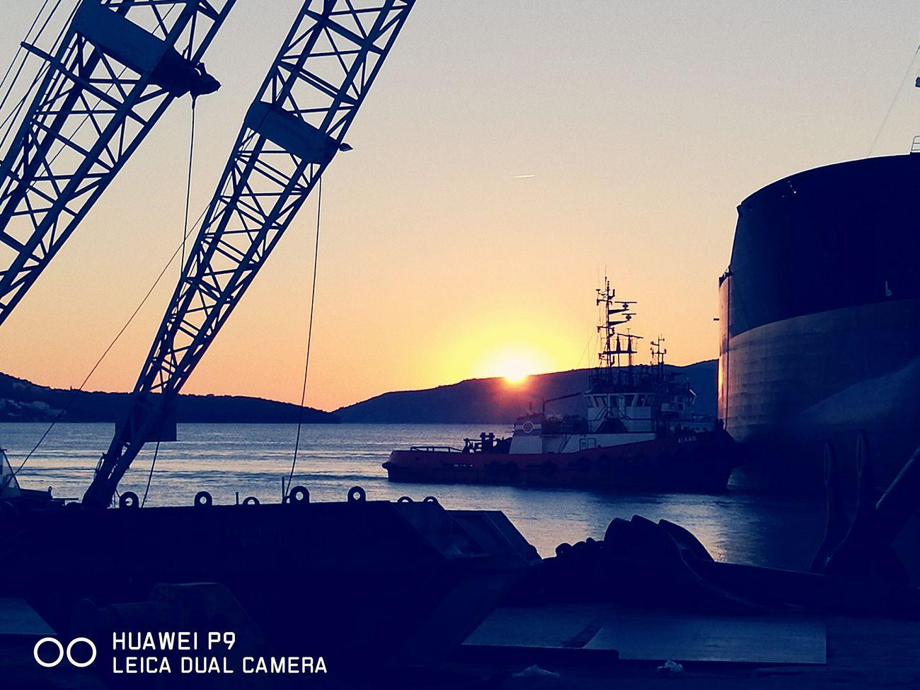 Shipyard Shiplife Ships⚓️⛵️🚢 Shipsunset Sunset Beautiful Nature Enjoying Life First Eyeem Photo Taking Photos Outdoors No People