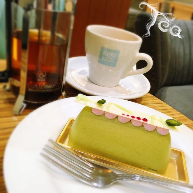 Tea Tea Time Cafe Cafe Time Cake Cake♥ Cakes スイーツ ピスタチオ ケーキ ムース 紅茶 アールグレイ