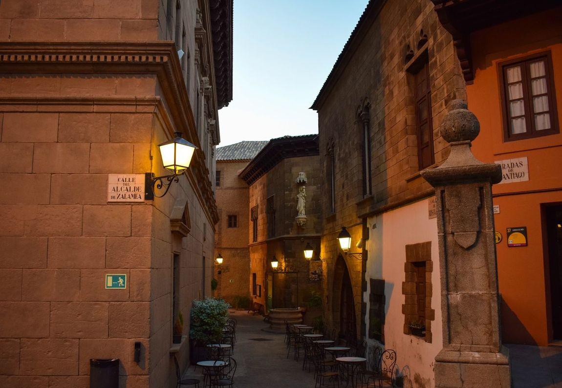 EyeEmNewHere EmergingLights Twilight Sky Deep Sight Poble Espanyol Barcelona, Spain
