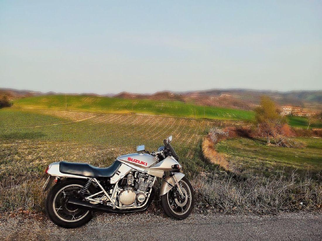 Sunday Ride Sunday Ride Motorcycles Suzuki Katana Nature Sky Blue Sky Italy Italia