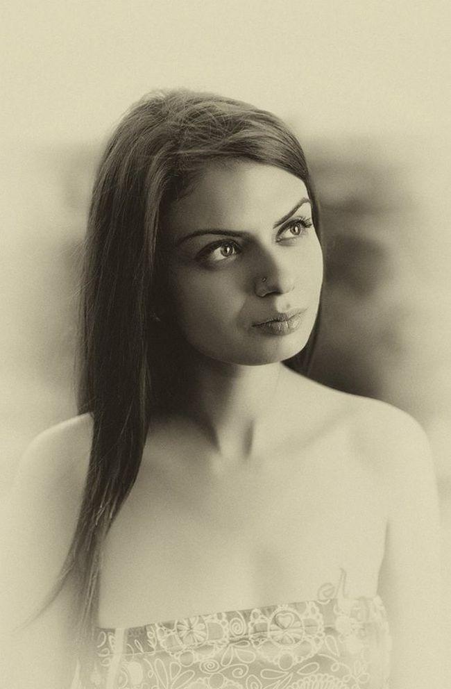 Portrait Hot Beautiful