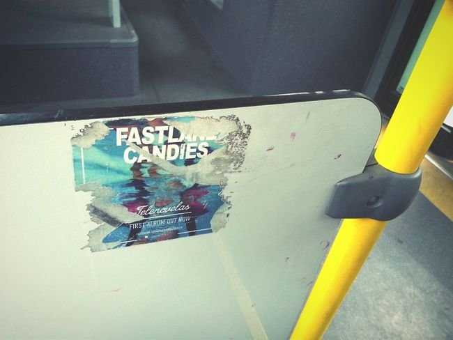 Wild Music Advertising On The Bus . Taken with my Samsung Galaxy S3 , On My Way To School. Urban 3 Filter