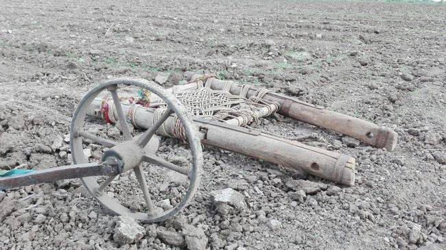 Pastel Power Traditional Tool of Farming Indian Farm Life Mobile Photography No Edit/no Filter Original