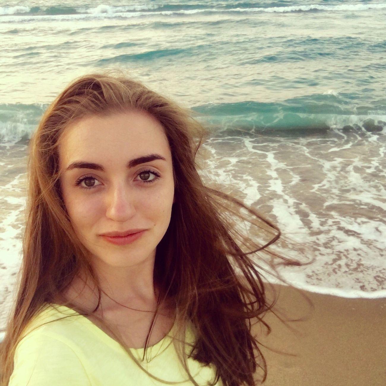 Russian Girl Beautiful Girl People Water Portrait Sea Self Portrait Beauty Beach