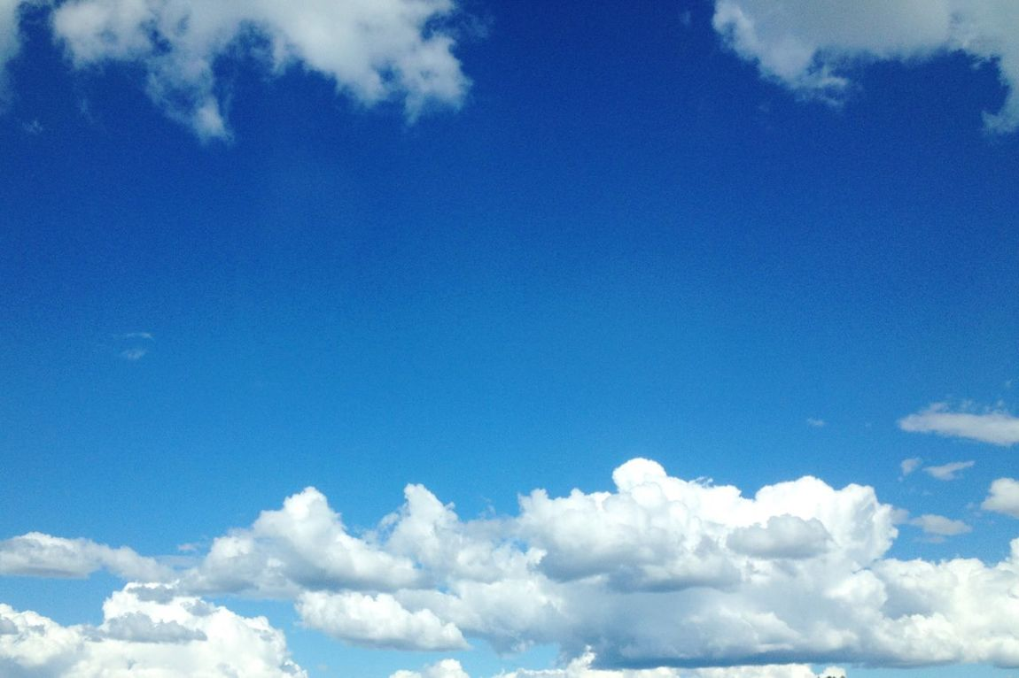 Clear Sky Sky Blue Cloud Nature Day Sky Only Outdoors Cloudscape Heaven No People Fluffy The Week Of Eyeem The Week On Eyem