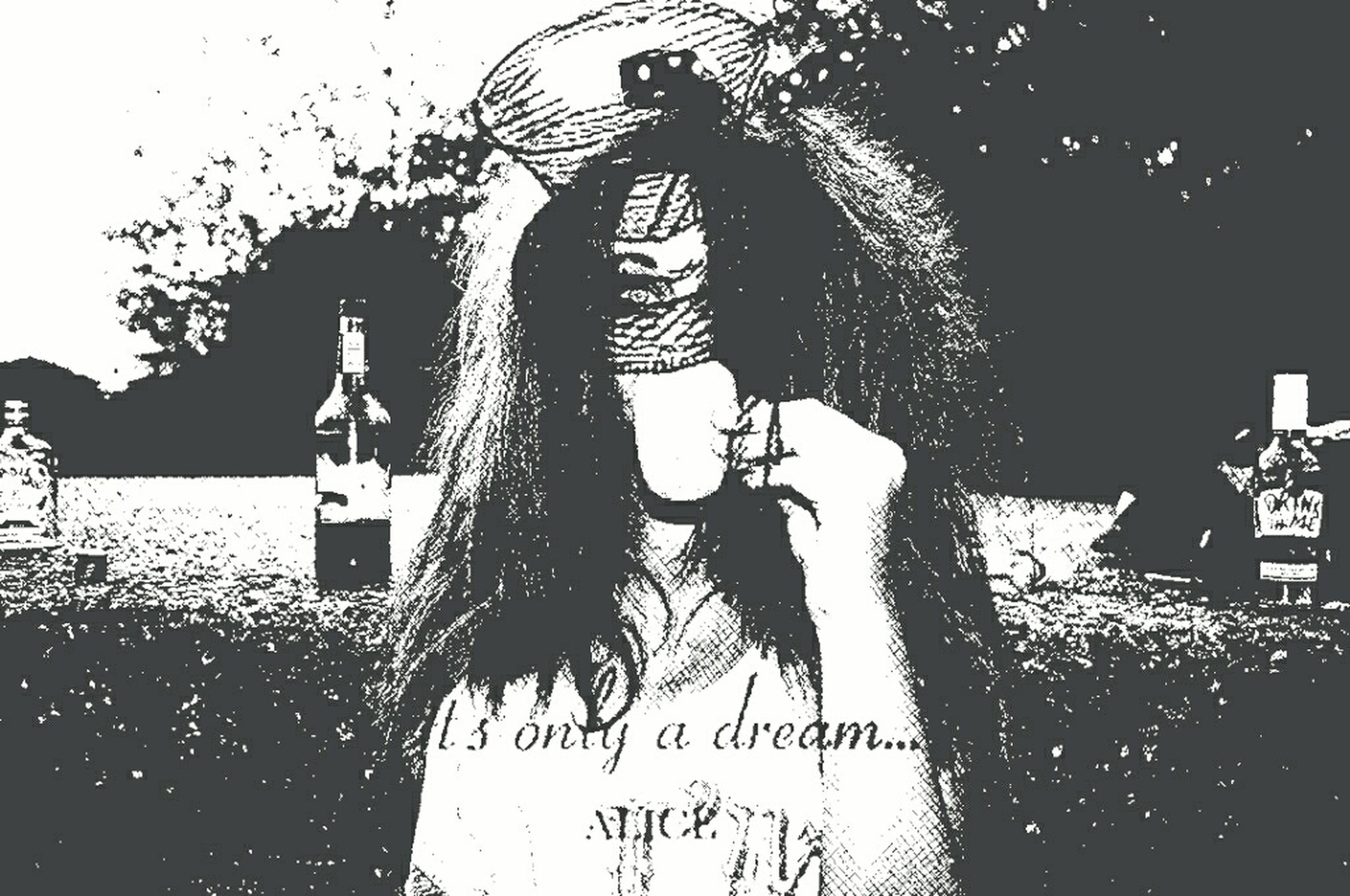 Just experimenting! Overlays Alice In Wonderland Its Only A Dream