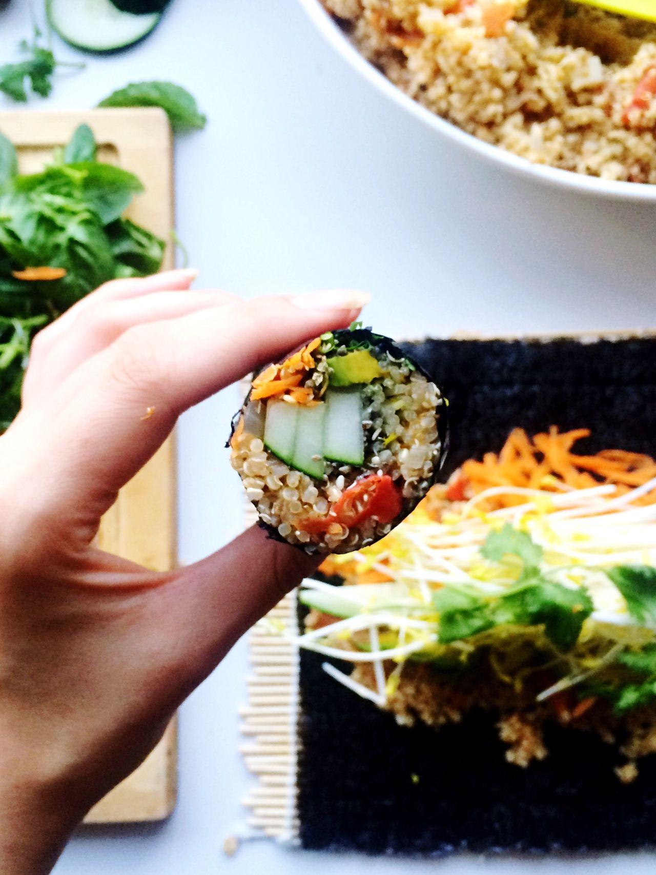 Food Porn Sushi Open Edit