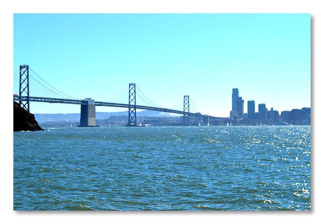 Looking Into The Future San Francisco San Francisco Bay Bridge San Francisco Bay Hanging Out Hello World EyeEm Best Edits Bridgeporn Bridge View Bridges_aroundtheworld