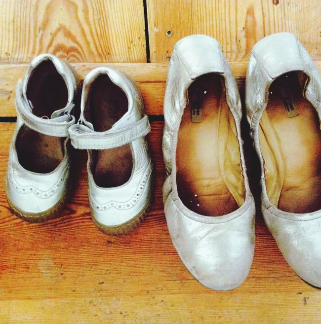 Silver Shoes Partnerlook