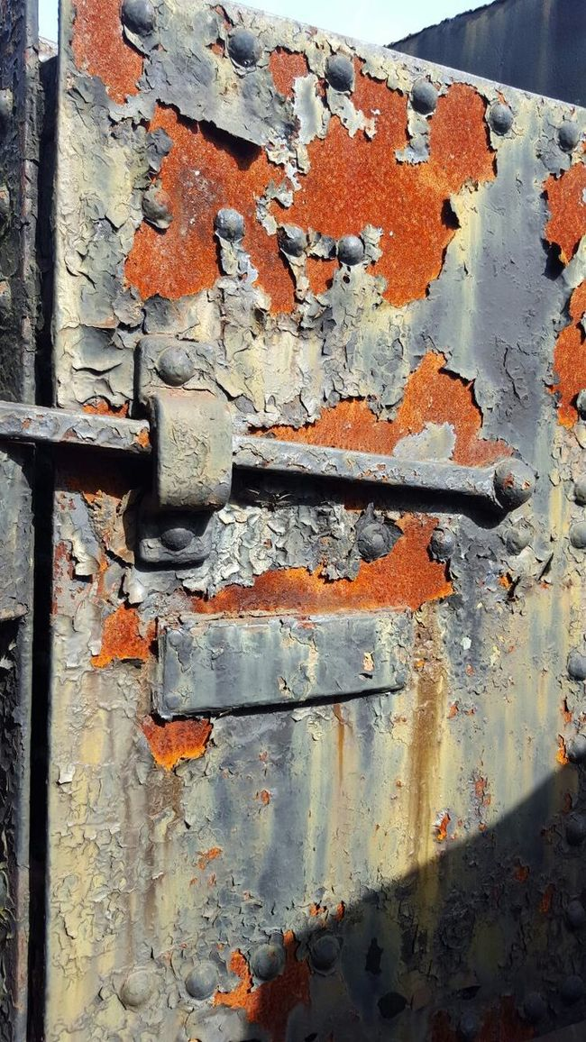 Rust sure has a beauty to it. Rusty Rusted Flakesofpaint Lock Door April Showcase Eye4photography  EyeEm Gallery