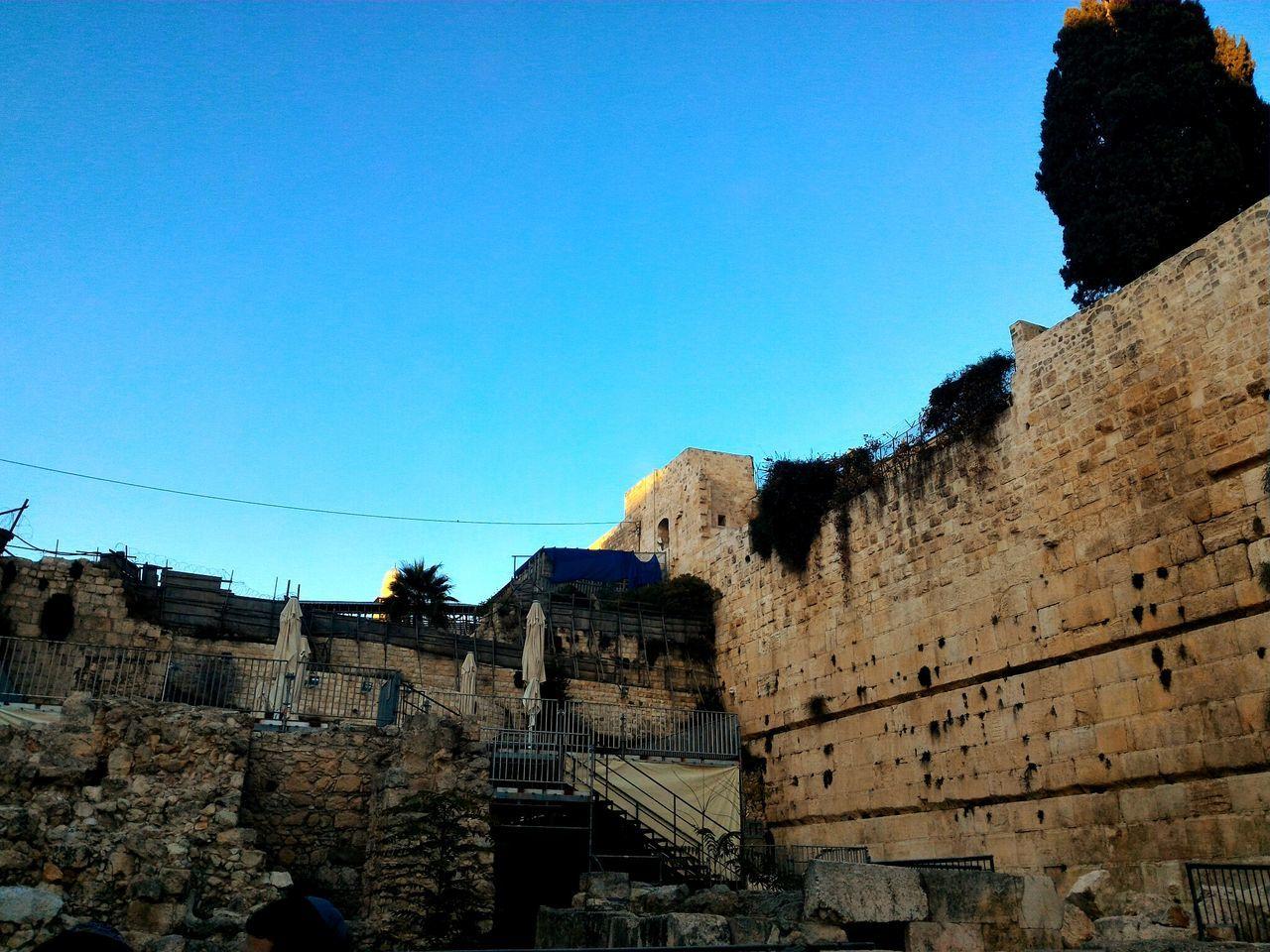The Holy City in Old Jerusalem
