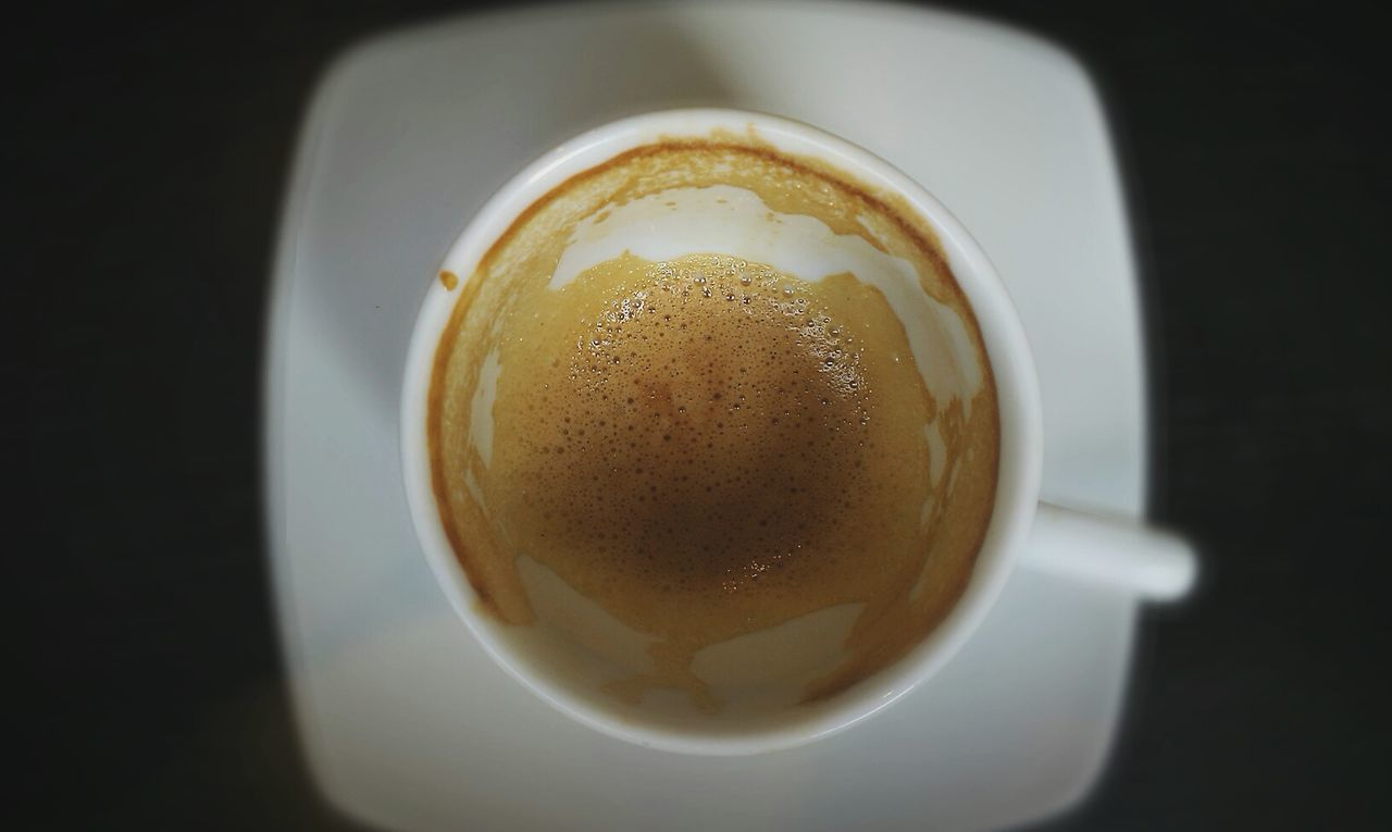 Finished coffee Coffee Coffee Time Wakeup Espresso Macchiato Espresso Caffeine Coffee Cup Mobile Photography Creative Light And Shadow Wake Up And Smell The Coffee