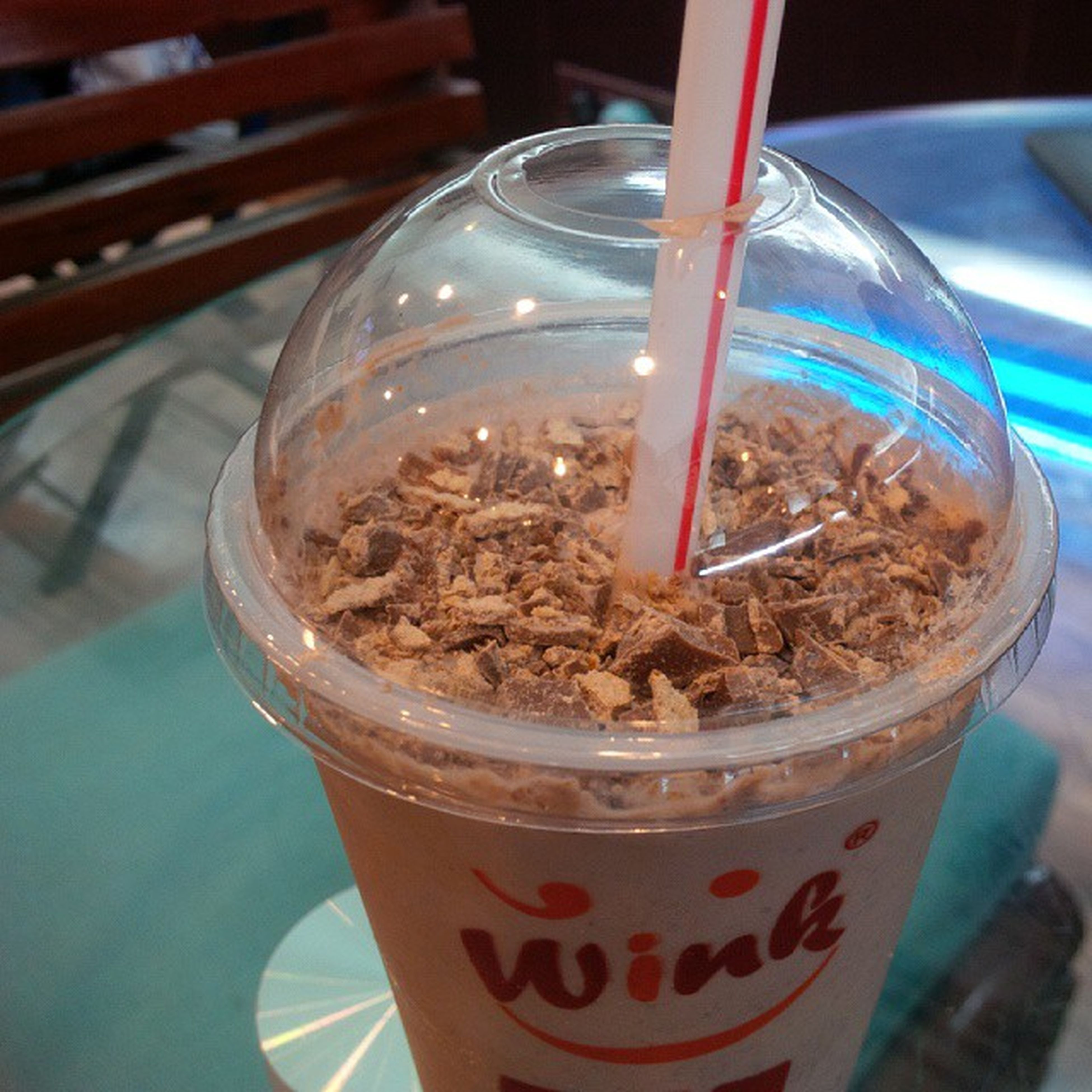 It can't get better than this. The Best Kit-Kat shake in town. CafeWink Kitkat Luscious  Drinkgasm Sodelhi