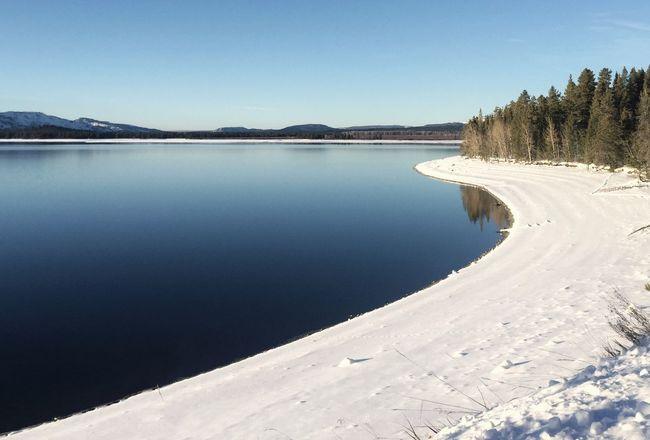 Jackson Lake-Tetons NP. Nationalpark Tetons Grand Tetons Lake Winter Wyoming IPhoneography Landscape Landscape_Collection This Week On Eyeem EyeEm Best Shots Landscapes With WhiteWall The Great Outdoors With Adobe The Great Outdoors - 2016 EyeEm Awards