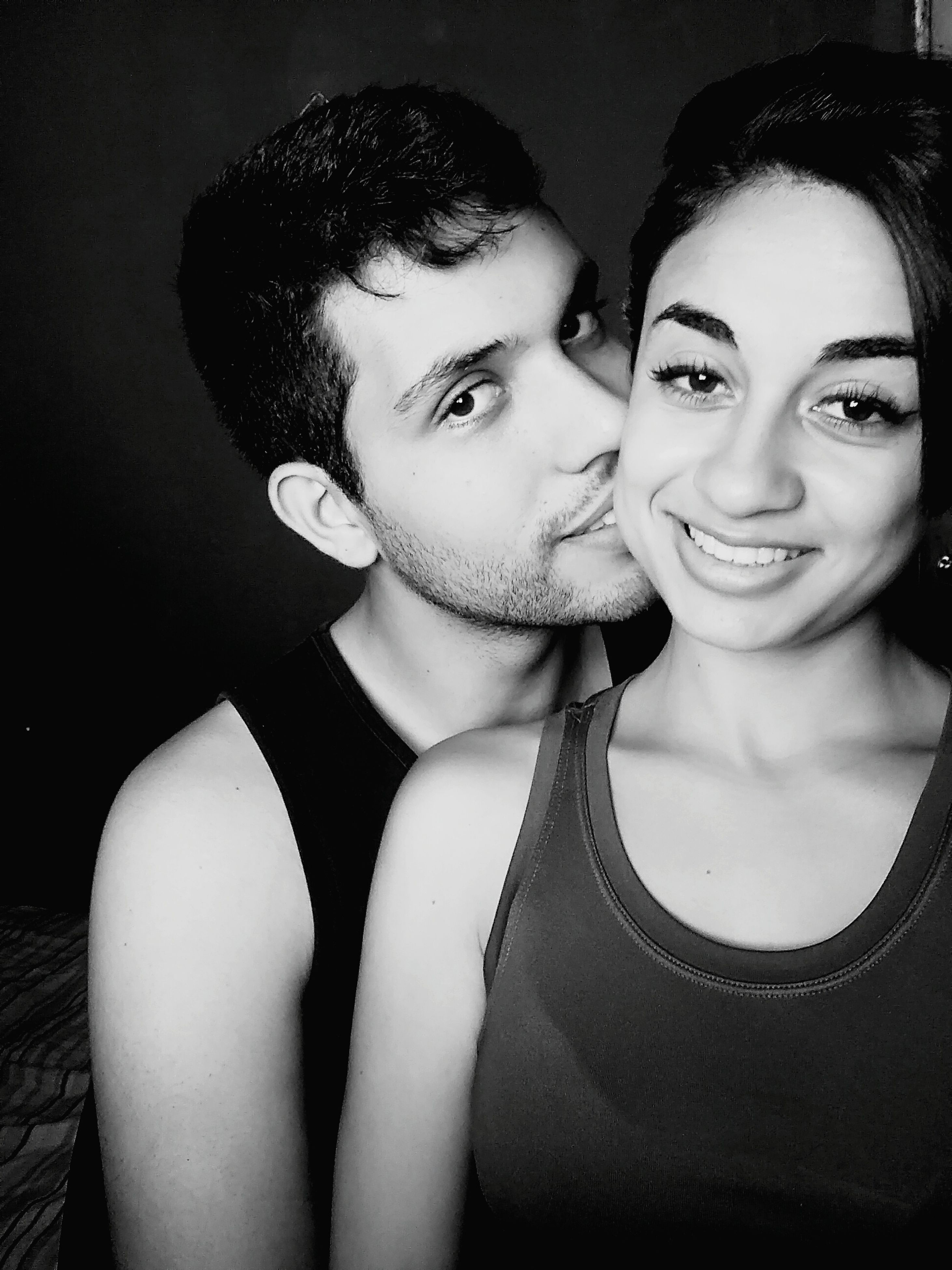 two people, young women, portrait, looking at camera, young adult, women, beautiful woman, love, lifestyles, fashion, togetherness, real people, close-up, indoors, adults only, smiling, adult, people, human body part, well-dressed, human lips, day