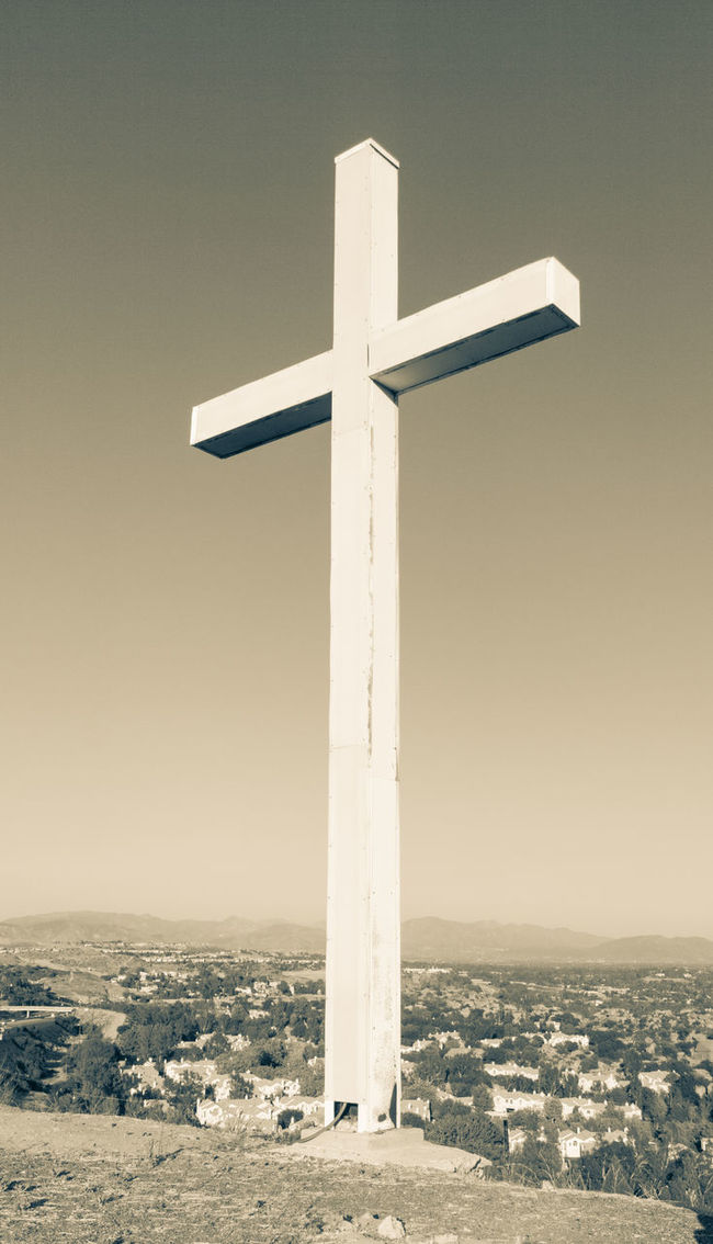 Cross Hilltop Crucifix View Overlook
