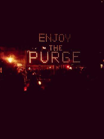 I survived the PURGE Hhn24