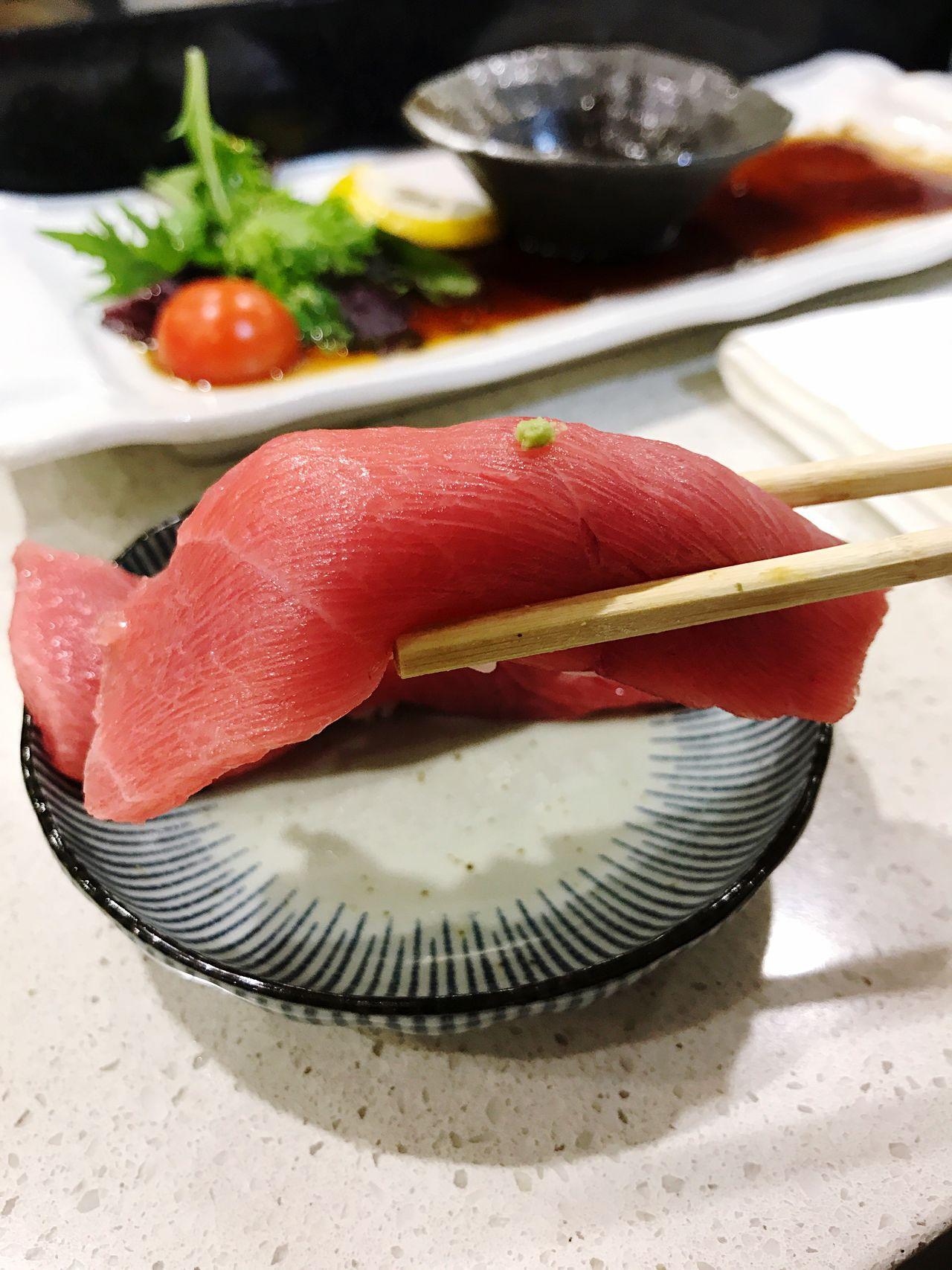 Blue Fin Tuna Sushi In My Mouf 😋