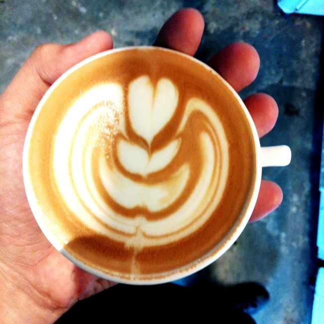 4oz. of love Latteart Tulip Flatwhitecoffee