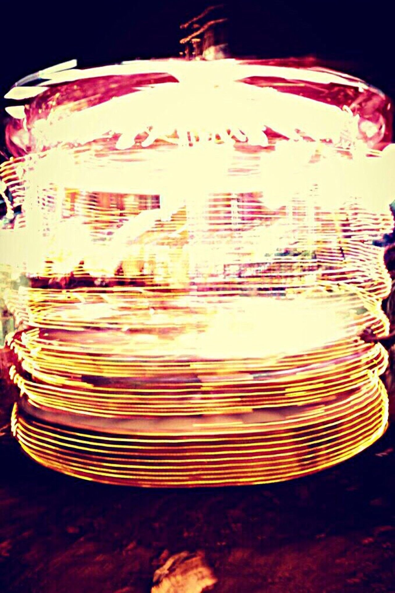 Fair Illuminated Circle EyeEm No People Eyeemphotography Phonephotography Eyeem Photography India Eyeemcollection EyeEmBestPics Light Effect Nightlife Arts Culture And Entertainment Motion Long Exposure Blurred Motion Multi Colored Entertainment Fun Night Black Background