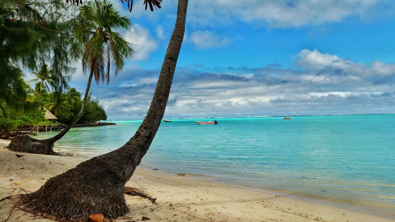 Beautiful stock photos of bora bora, Beach, Beauty In Nature, Boat, Cloud - Sky
