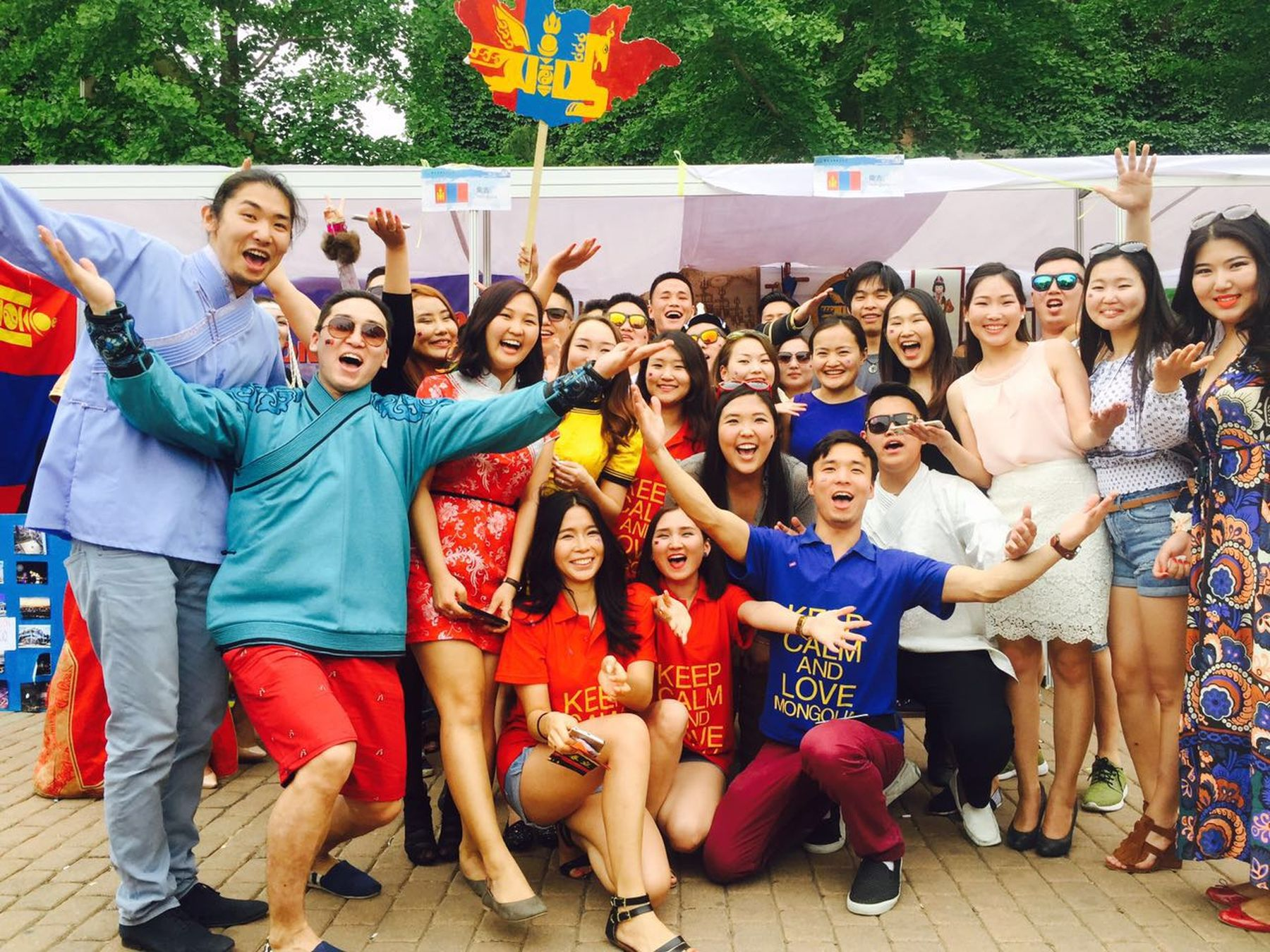 We Are Mongolians International Culture Festival 2015 UIBE ❤️💙❤️