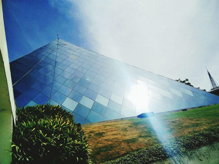 Pyramid building, Infosys Bangalore BeautyinIT ITnatureBeauty