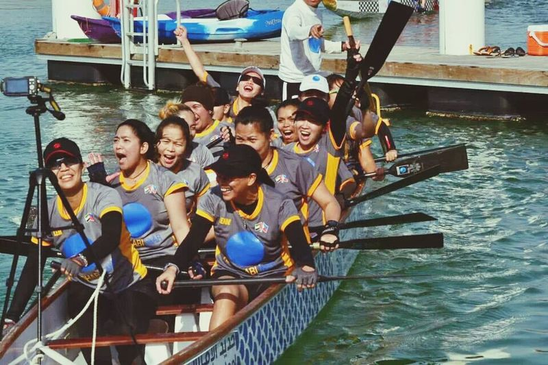eastern mangrove 2014 regatta Dragonboatraces Missghie Enjoying Myself TeamADMar