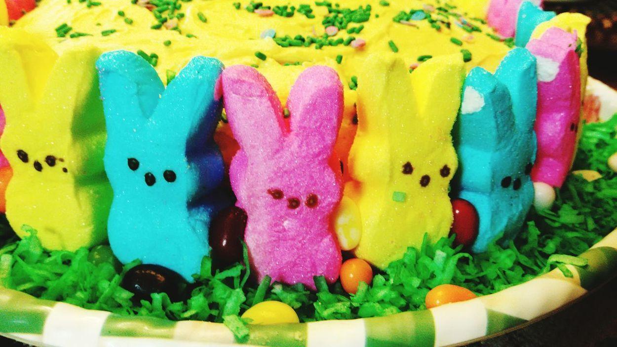 Happy Easter Every-bunny!! Happyeaster Mypeeps Yummy Taking Photos Enjoying Life Eye4photography  Getting Inspired OpenEdit Foodporn Delicious