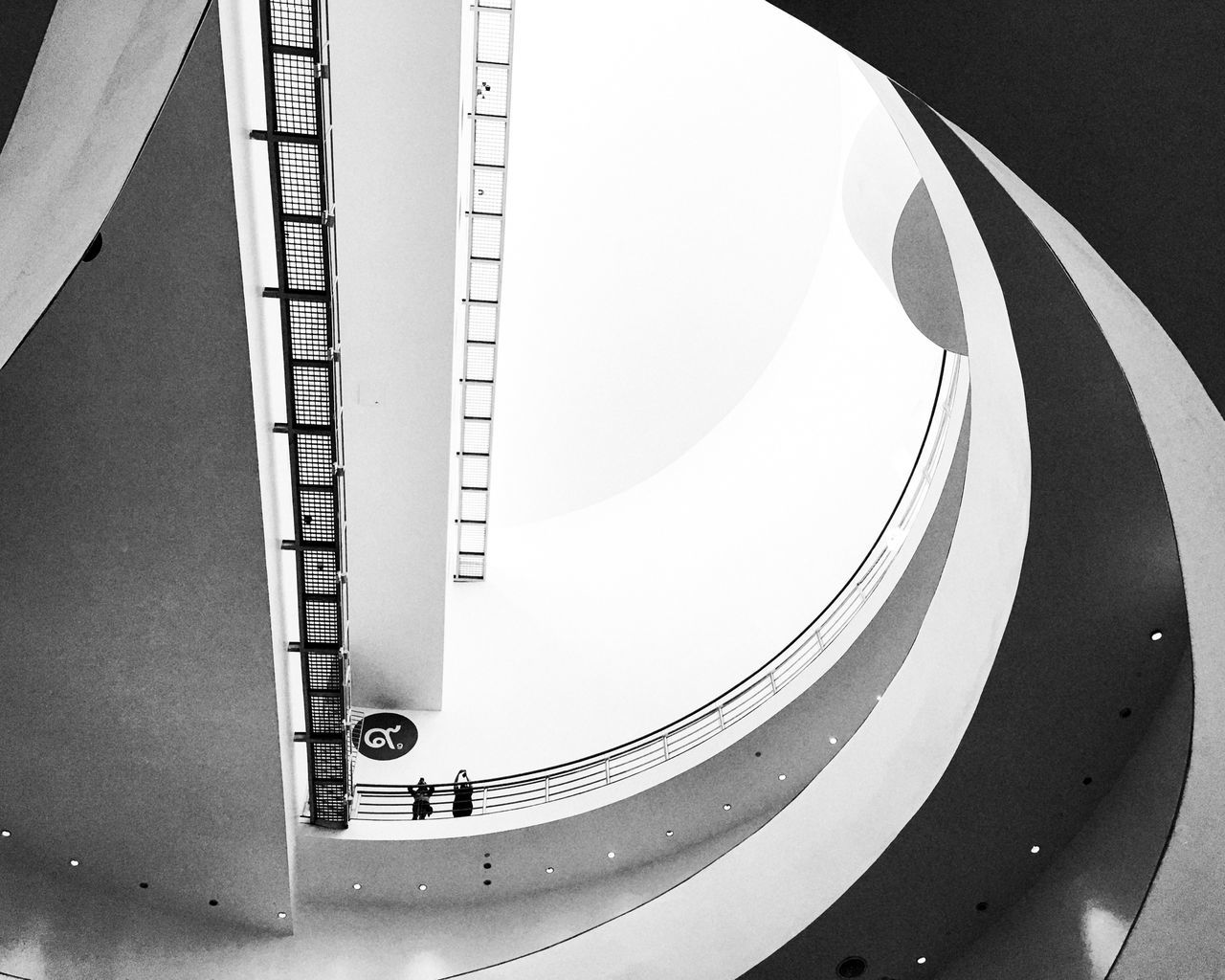 Architecture Bangkok Arts & Cultural Centre Circle Design Directly Below Geometric Shape Indoors  Modern Spiral Spiral Staircase Spotted Your Design Story