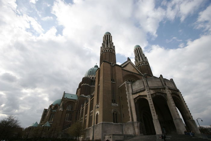 Architecture Brussels❤️ Building Exterior Built Structure Business Finance And Industry Cloud - Sky Day Koekelberg Basilica Low Angle View Medieval No People Outdoors Sky Tower Travel Destinations