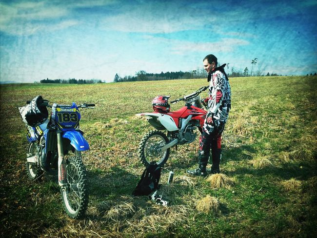 Freeriding Motocross Enjoying Life Moto_collection