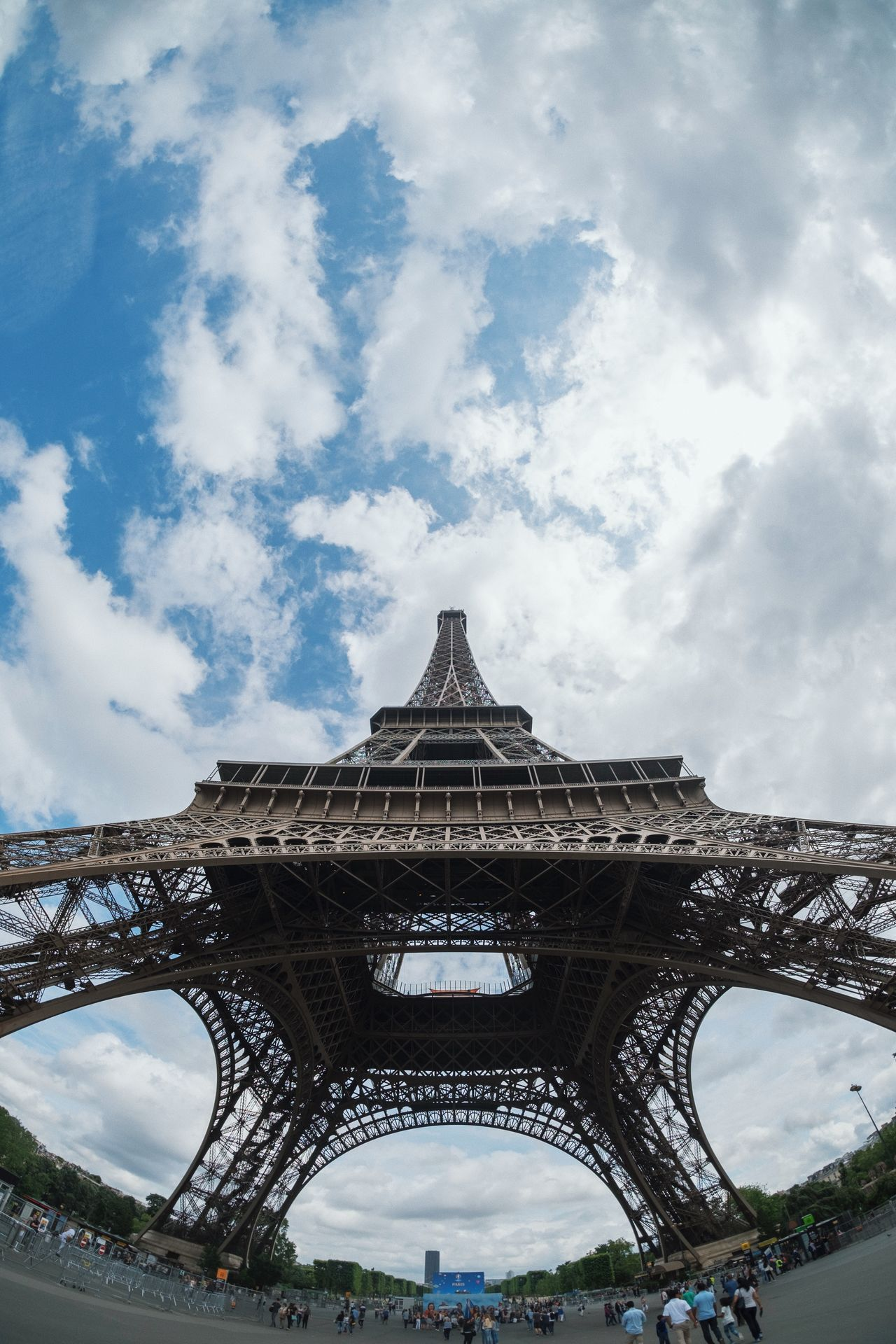 Architecture Building Exterior City Cityscape Cloud - Sky Day Eiffel Tower France No People Outdoors Paris Paris, France  Sky Travel Travel Destinations