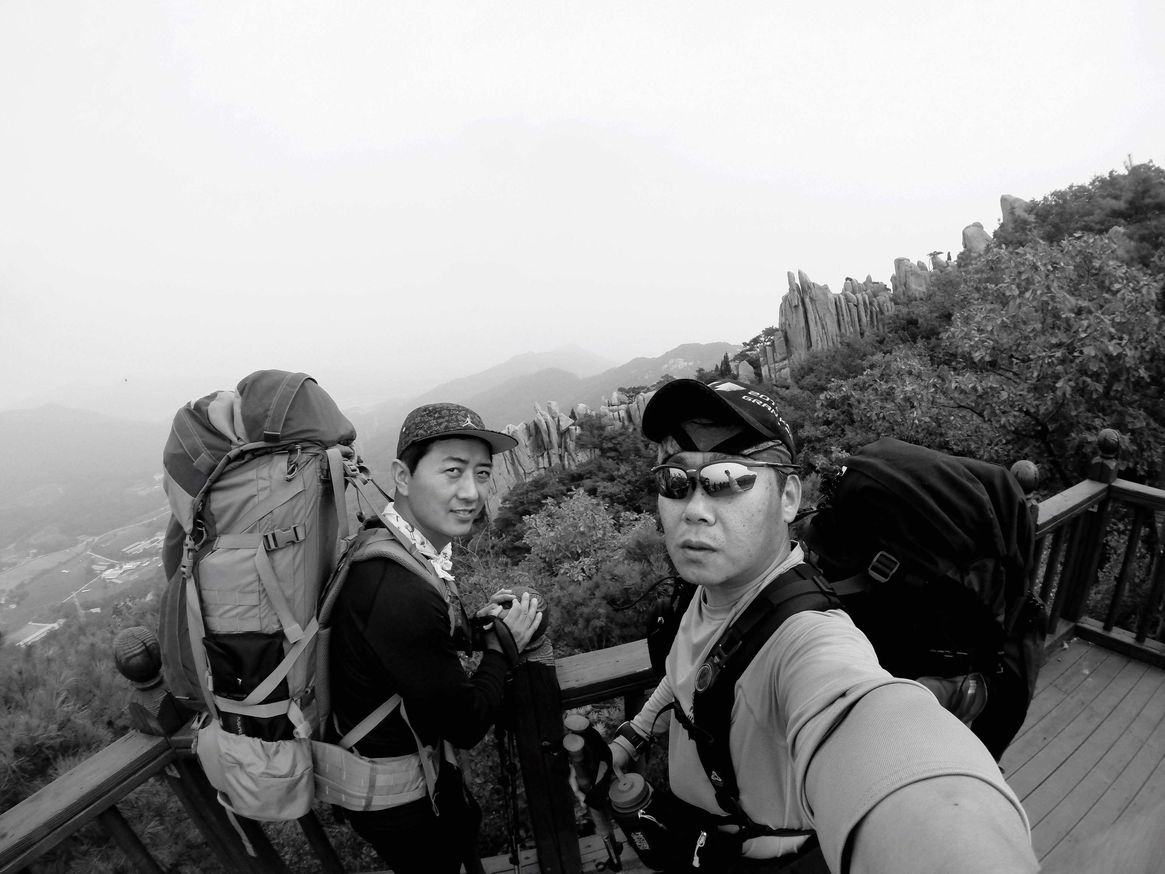 악귀봉 Mountain Bacpackers Partner GoPro Hero3+
